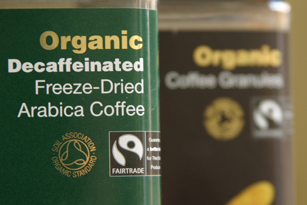 Organic and Fairtrade Coffee